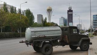 Régi és új ötvözete az alig 20 éves kazah fővárosban