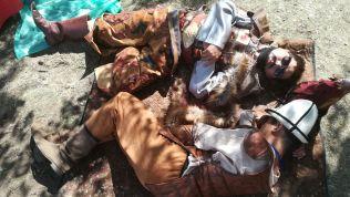 Túl sokat piáltak, kidőltek a nomád harcosok