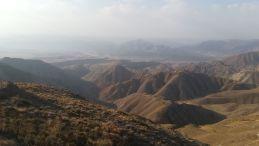 Egy nap várakozás után sikerült átkelni a hegyeken