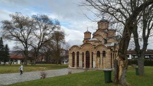 Csodálatos a szeb ortodox kolostor Gracanica városában