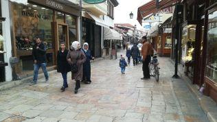 Szkopje régi központja
