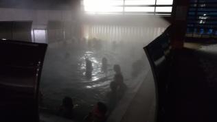 Külön élmény a szabadtéri termálfürdő