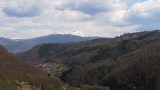 Kilátás a Retyezát-hegységre