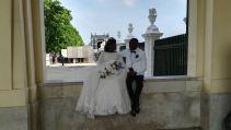 Afrikából származó házaspár...
