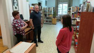 A könyvtárral kapcsolatban is sok volt a kérdés