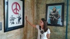 Három Banksy mű