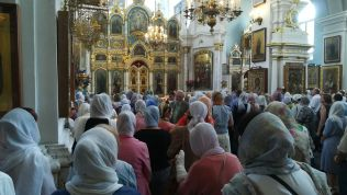 Ortodox templom Minszk belv'ros'ban