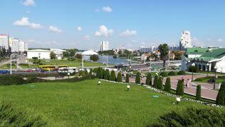 Akár egy festmény: idillikus látkép Minszk belvárosáról