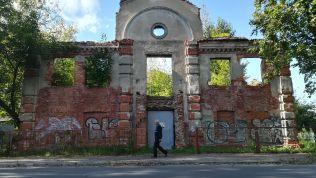1897-ben Vicebszk lakosságának fele zsidó volt. Több zsinagóga is működött, mára már csak a rook maradtak meg…