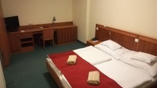 A Hunguest Hotel Aqua-Solban számunkra Nagy Gyula Zoltán által fenntartott hálószoba