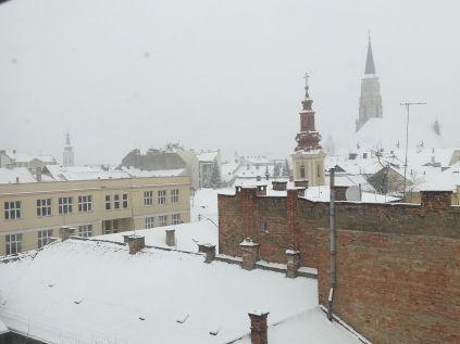 Március 23-án havazott