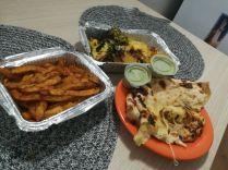 Az Indigo indiai vendéglőből rendeltünk