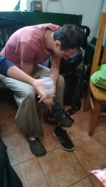 A hajszárító cipőre is használható