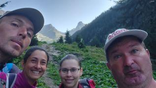 A Bucsecs-hegységbe történő indulás előtt titánok vagyunk