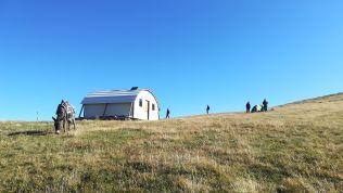 A Nagy-Vista hegycsúcs alatti menedékhely
