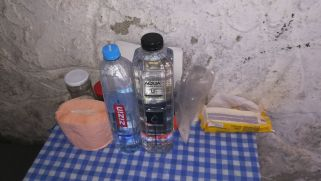 Kiváló állapotban van a Kis-ablak (Fereastra Mica a Sâmbetei) közvelten közelében lévő menedékhely