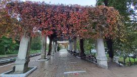 A herkulesfürdői vasútállomás
