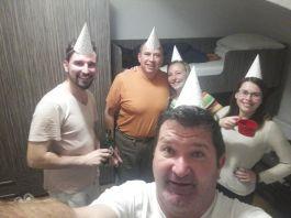 Pénteken este a születésnapomat ünnepeltük. Igen, a negyvenediket... :)