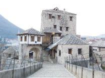 Csak világjárvány idején lehet így látni a Mostar városában lévő Öreg Hidat