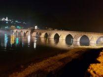 Visegrad, híd, romantikus