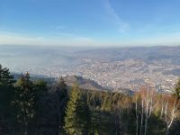 Szarajevó a Trebević-hegyről
