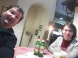 Karácsonyi vacsora ittas pincérrel Visegrádban