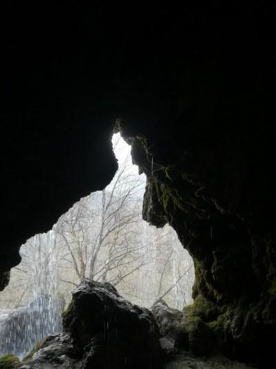 A vízesés mögé bújás Izlandot juttatta eszembe