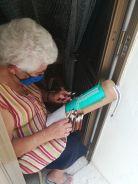Helyi motívumokkal rendelkező könyvjelző nénivel is találkoztam